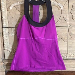 Rese, Athletic Top, Purple, XL